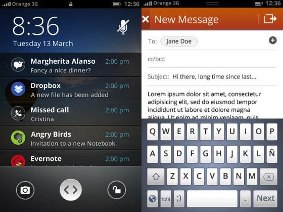 Firefox Mobile OS Screenshots