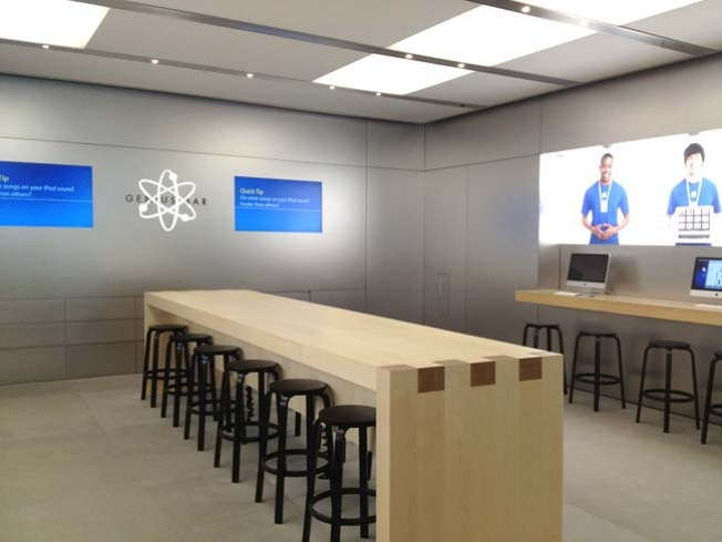 Apple Genius Bar Layout Changes