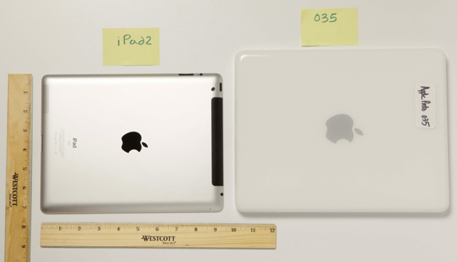 iPad Prototype Comparison Photos