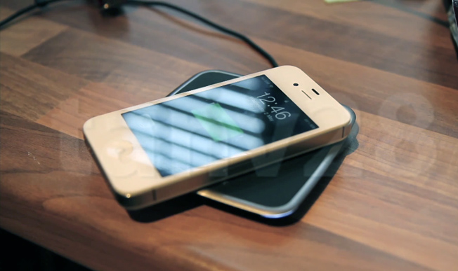 iPhone 4S Wireless Charging Hack