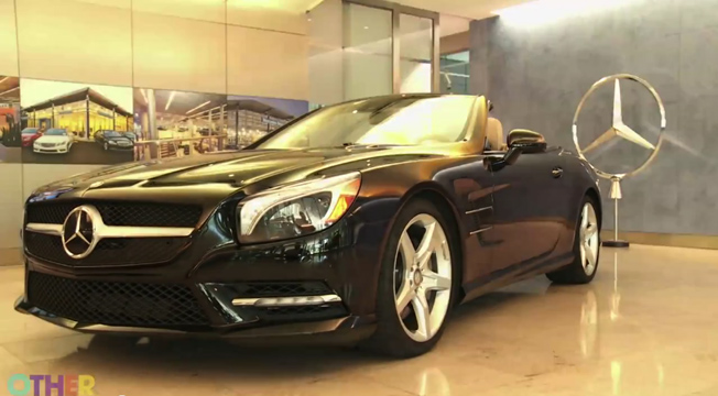 Mercedes-Benz SL550 Video Review