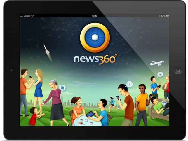 News360 iPad App Redesign