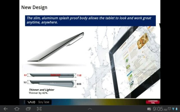 Sony Xperia Tablet Leak