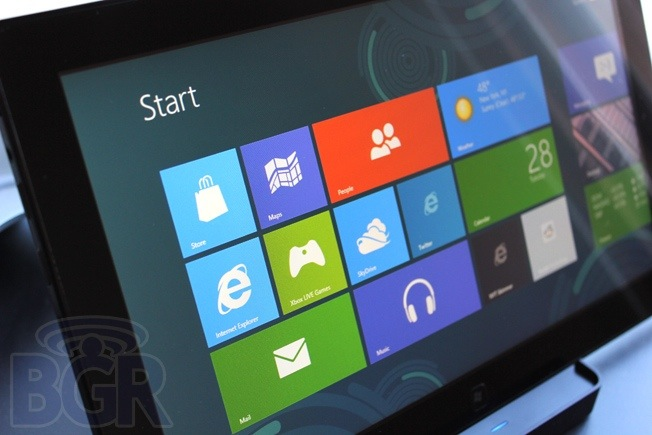 Toshiba Windows RT Tablet