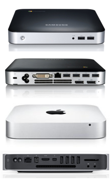 Samsung Chromebook Mac Mini Comparison
