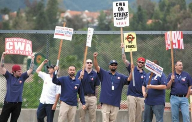 AT&T Workers Strike