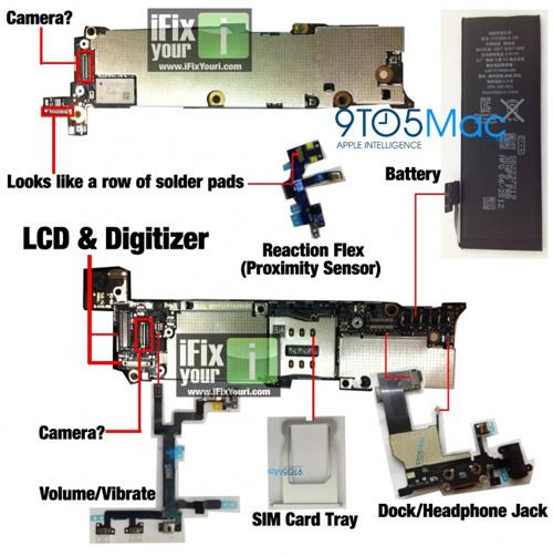 iPhone 5 Photos Parts Leak