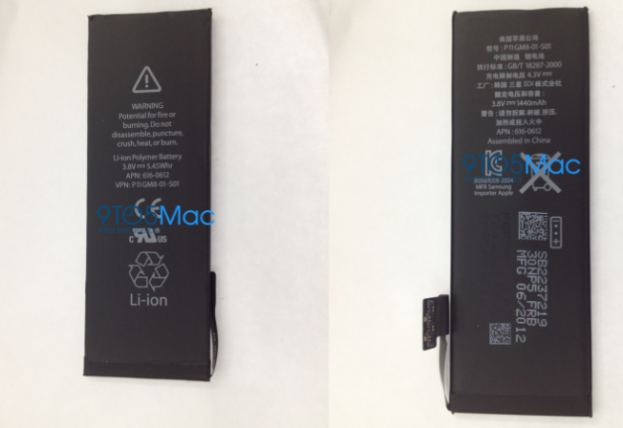 iPhone 5 battery leaks