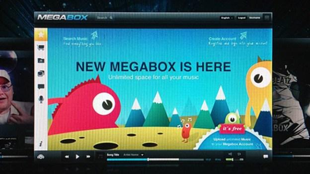 Kim Dotcom Megabox Music Service