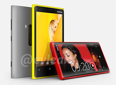 Nokia Lumia 920 820 Revealed