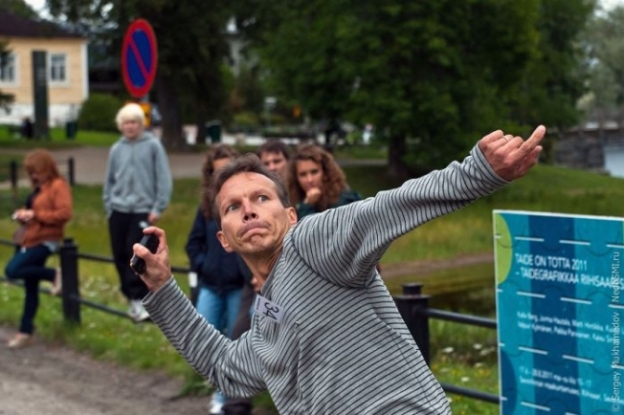 Finland Phone Throwing Championship