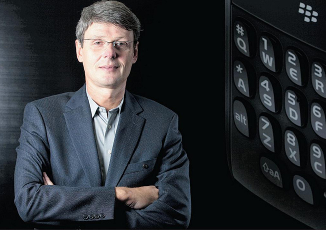 Ex-BlackBerry CEO Heins Fired