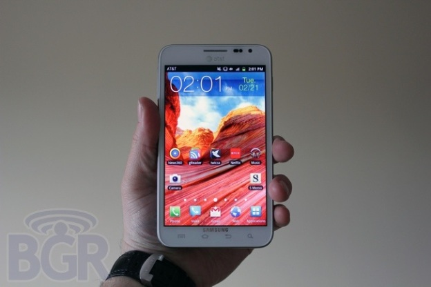 Galaxy Note Sales 2012