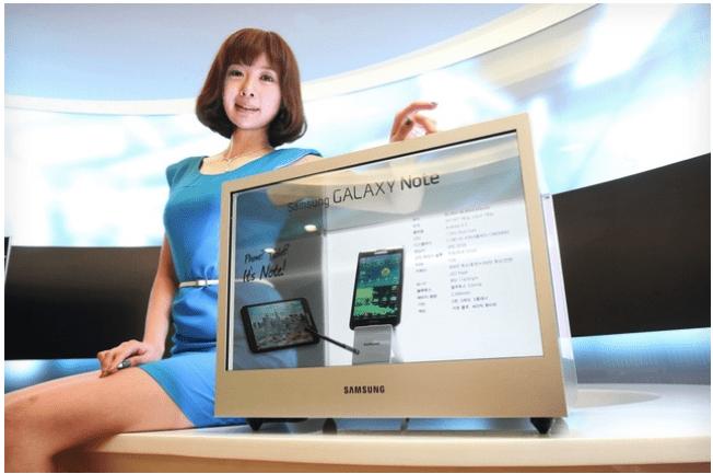 Samsung Transparent Display Release Date