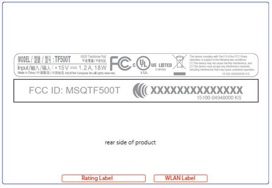 ASUS TF500T Transformer Tablet Revealed