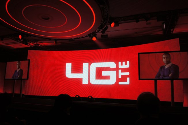Verizon 4G LTE Data Traffic