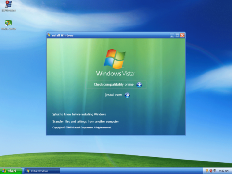 Windows Vista dead, discontinued