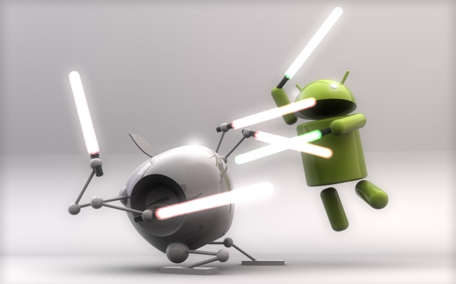 Apple Google Patent War Analysis