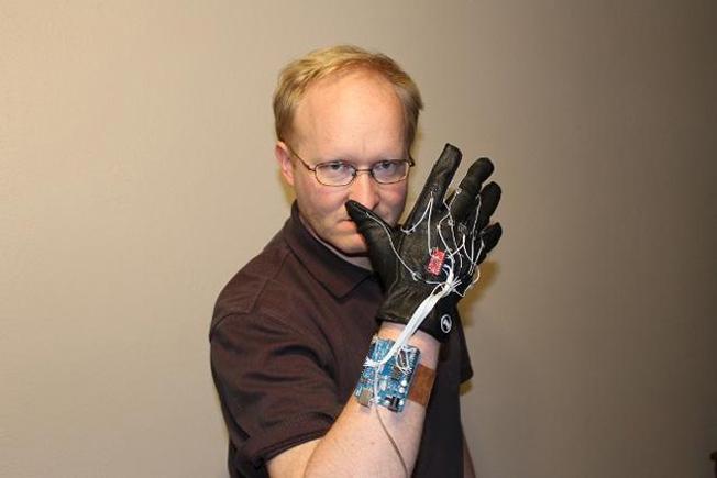 Kinect Power Glove Hack
