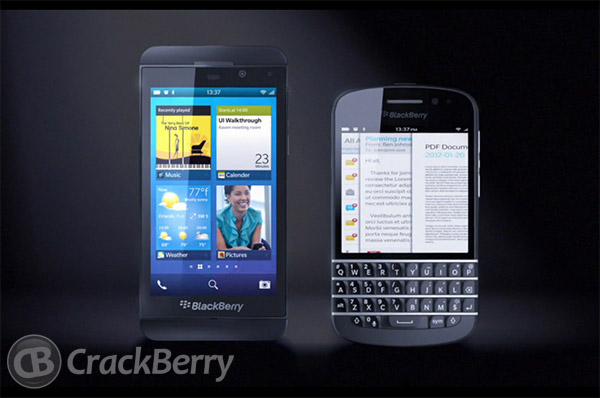 BlackBerry 10 Phones Leak
