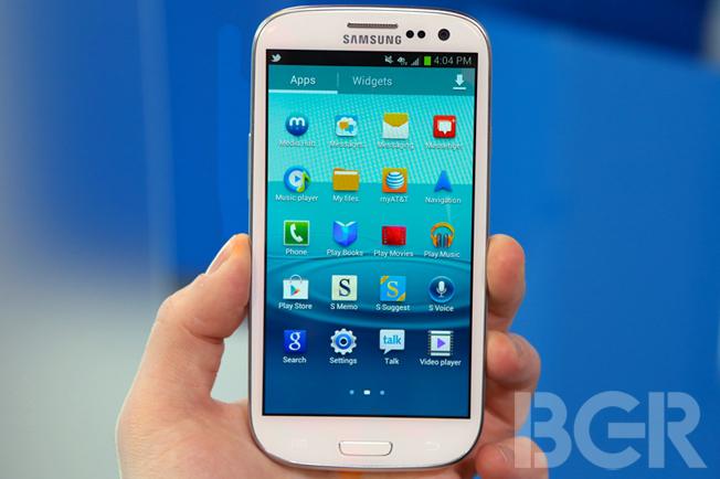 Galaxy S III Lock Screen Bypass