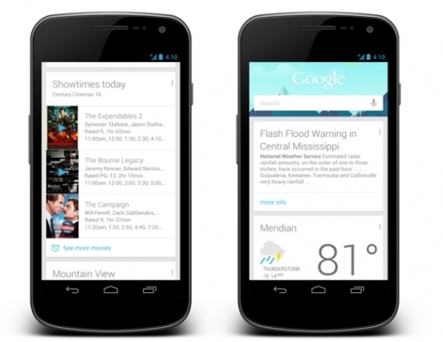 Google Now Features
