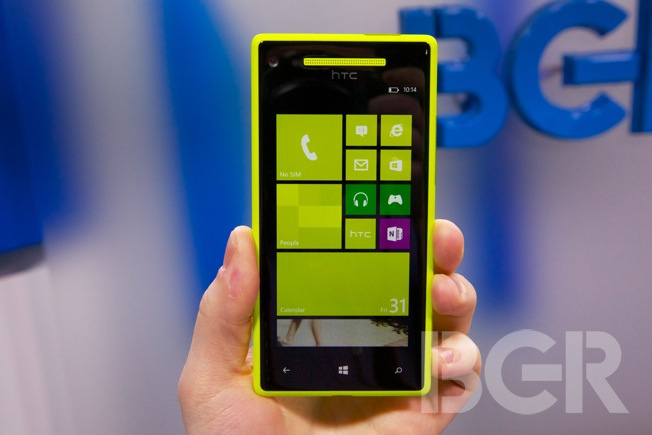 HTC Windows Phone 8X and 8S announced