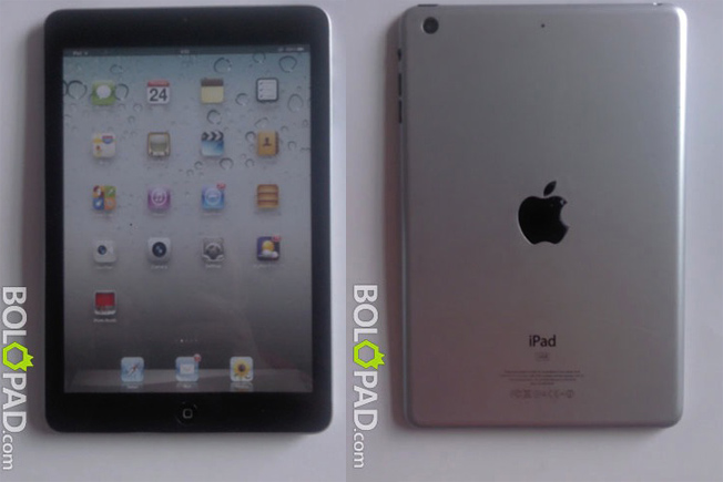 iPad Mini Photos Leak