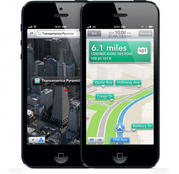 Apple Google Maps Contract