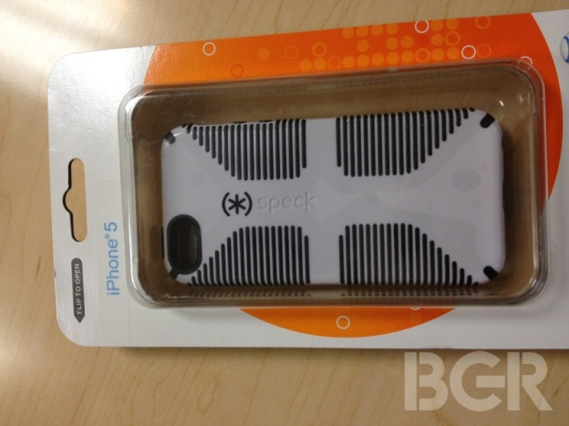iPhone 5 cases at AT&T already showing up