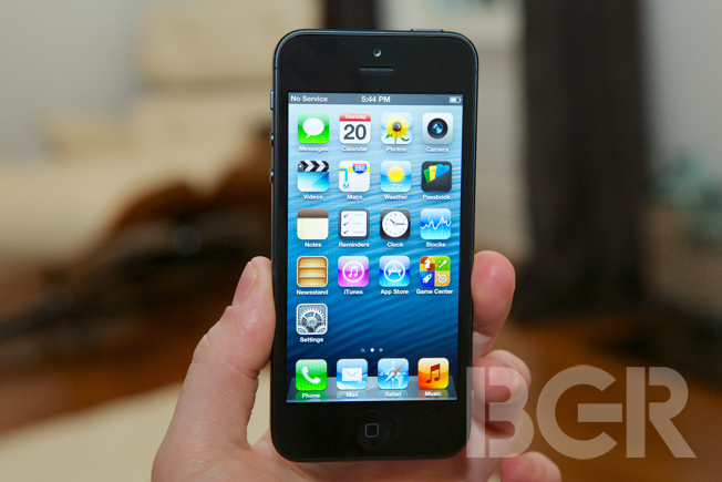 Apple iPhone 5 first impressions