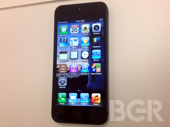 iPhone 5 Delivery Date