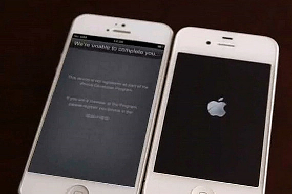 Apple iPhone 5 Boot Up Video