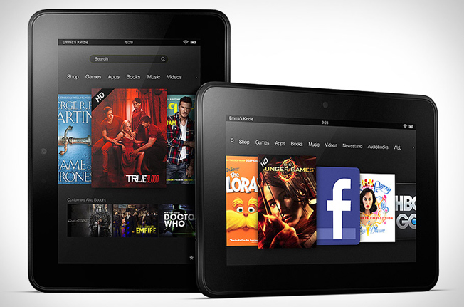 Kindle Fire HD Shipments 2012