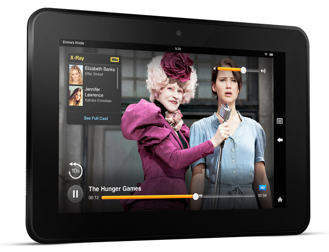 Amazon Kindle Fire HD Sales
