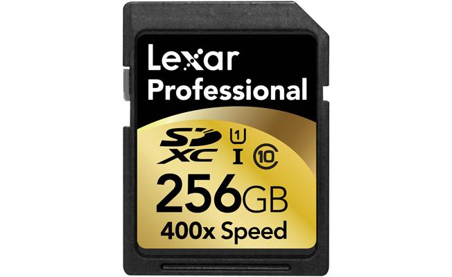 Lexar 256GB SD Card Release Date