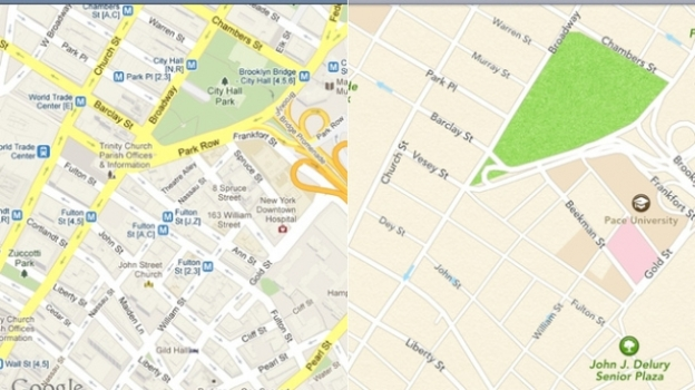 Apple-Google Maps Fight