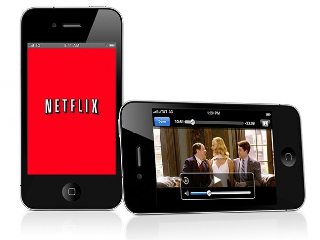 Netflix iOS App iPhone 5