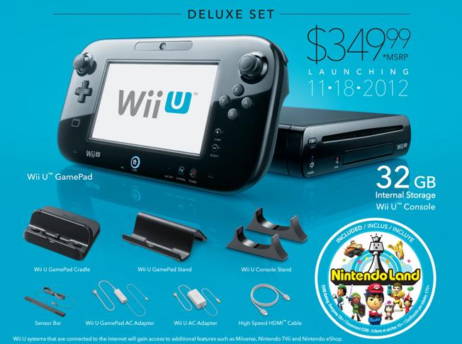 Nintendo Wii U Preorders
