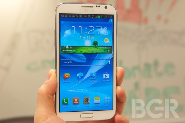 T-Mobile Samsung Galaxy Note II Release Date