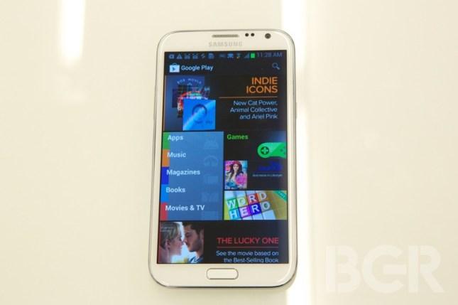 Sprint Samsung Galaxy Note II Release Date