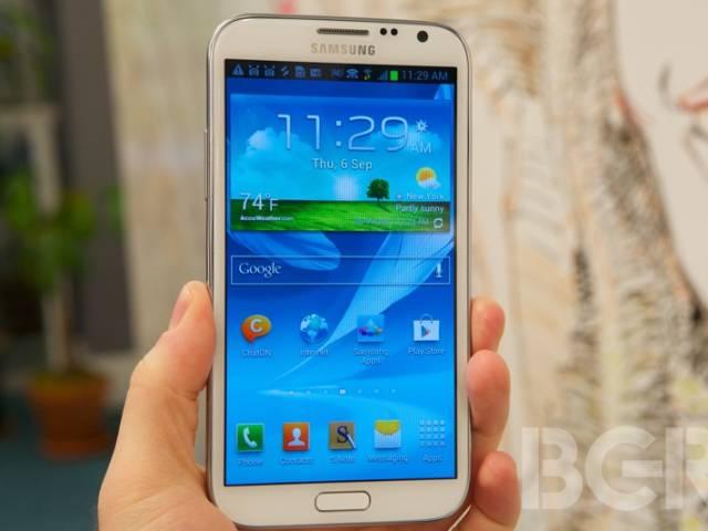 Galaxy Note Sales