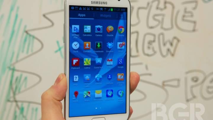 Galaxy Note III Flexible Display
