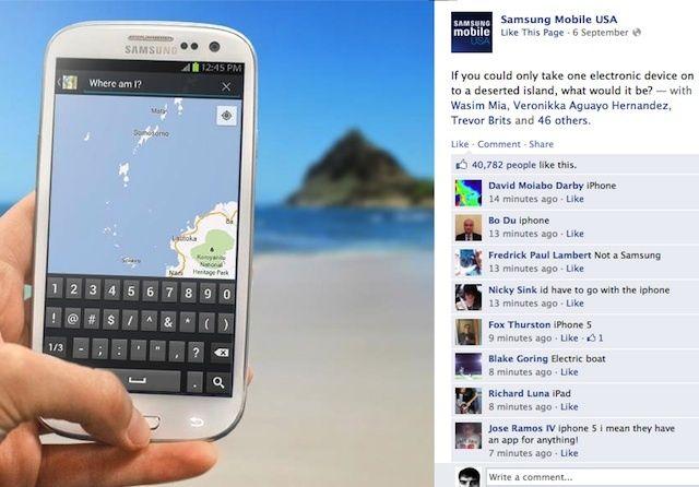 Samsung iPhone 5 Ad