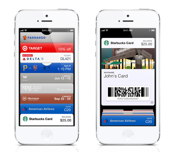 Apple iOS 6 Passbook Apps
