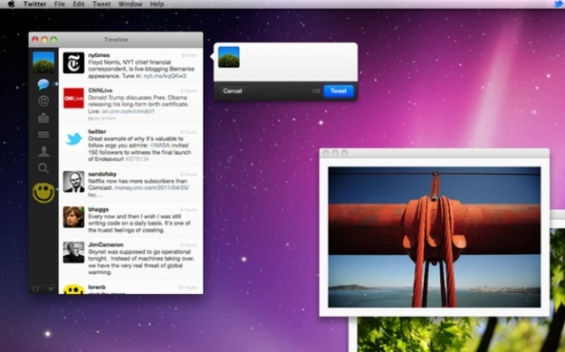 Twitter Mac App Discontinued