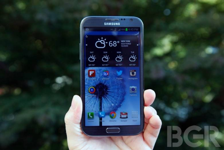 Galaxy Note III may have flexible, shatter-proof display