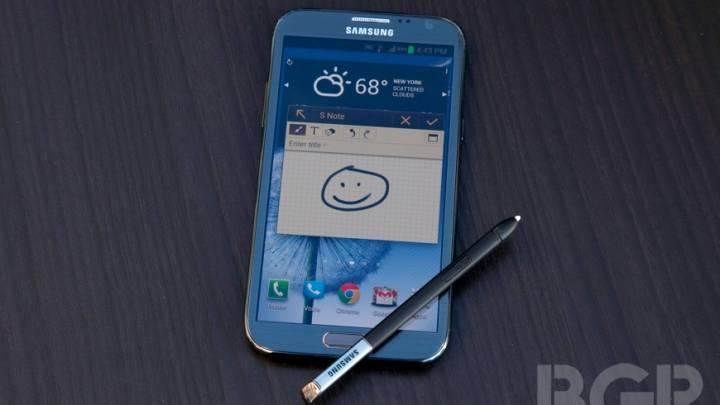 Samsung Galaxy Note II Sales