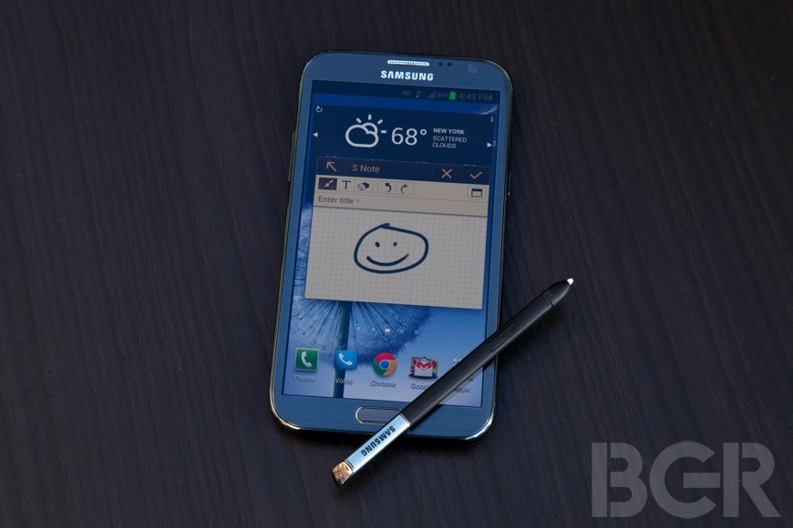 Samsung Galaxy Note II Sales