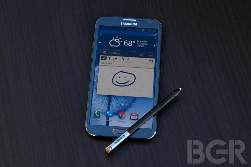 Galaxy Note II Vulnerability